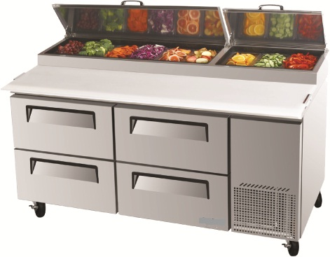 Pizza Table With Drawers Austune
